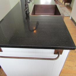 composite stone with Copper Butlers sink.email